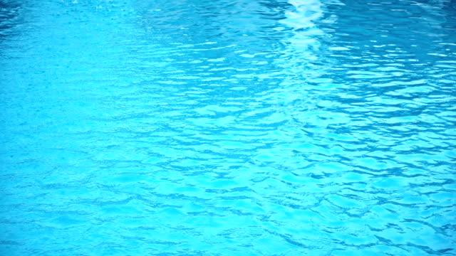 Swimming pool caustics video