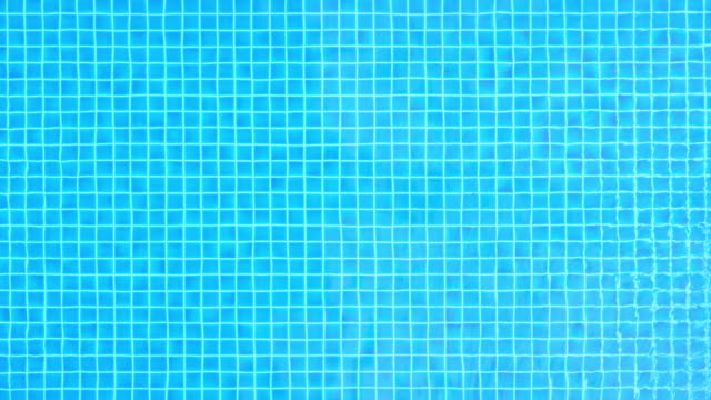 Swimming pool water surface(UHD) video