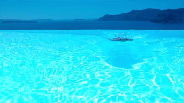 Swimming video
