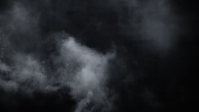 swirling atmospheric environment smoke - nebbia video stock e b–roll