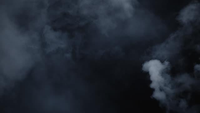 煙の渦巻く大気環境 - 噴煙点の映像素材/bロール