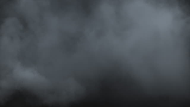 Swirling atmospheric smoke Atmospheric smoke. Haze background. Abstract smoke cloud. Smoke in slow motion on black background. White smoke slowly floating through space against black background. Mist effect. VFX fog effect. atmosphere stock videos & royalty-free footage