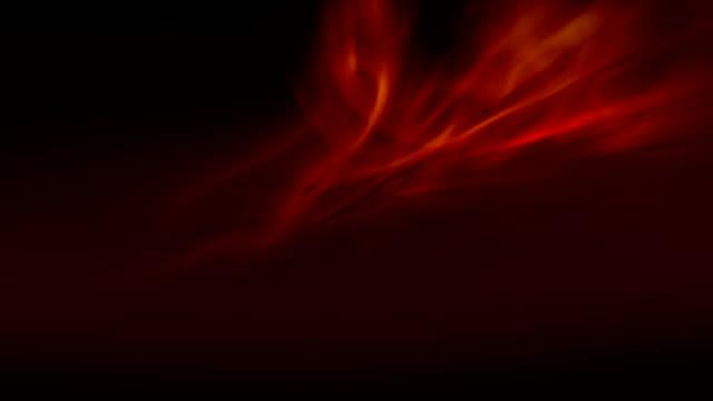 stockvideo's en b-roll-footage met wervelende oranje licht en schaduwen - depth vector