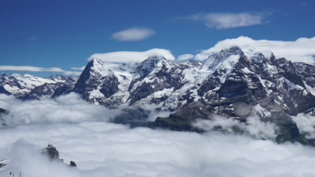 Swiss Alps Time Lapse video