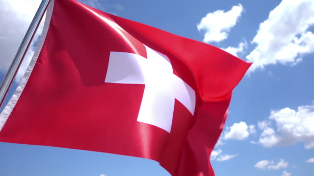 Swiss Flag video