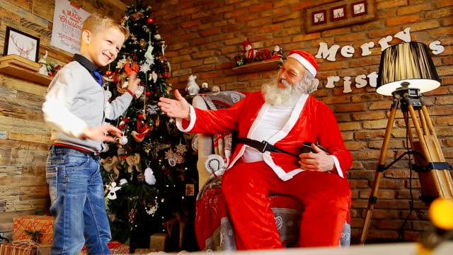 Swiss kid gets Christmas dream gift video