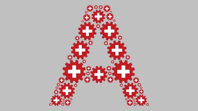 Swiss letter A