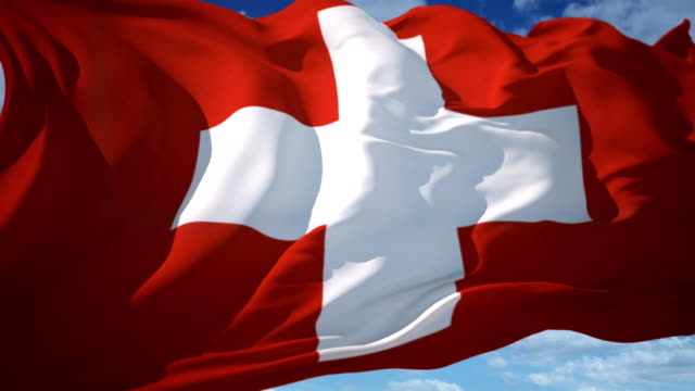 Switzerland Flag video