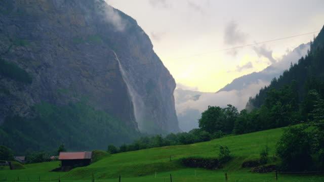 Switzerland. Lauterbrunnen valley