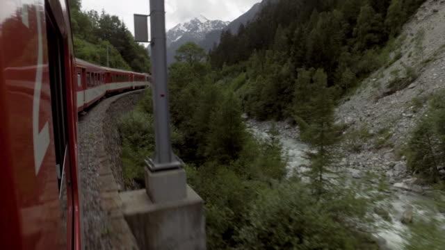 schweiz tåg för transport - wengen bildbanksvideor och videomaterial från bakom kulisserna