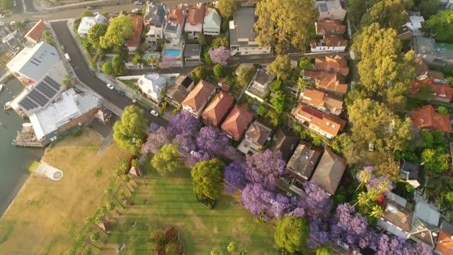 시 키리빌리 하이 리프트 2 cbd - 시드니 뉴사우스웨일스 스톡 비디오 및 b-롤 화면