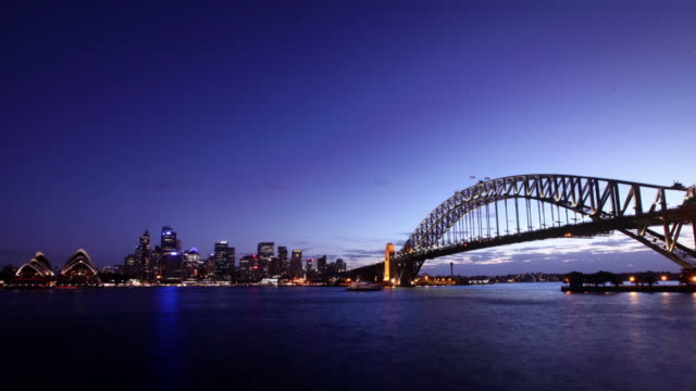 Sydney Harbor Sunset video