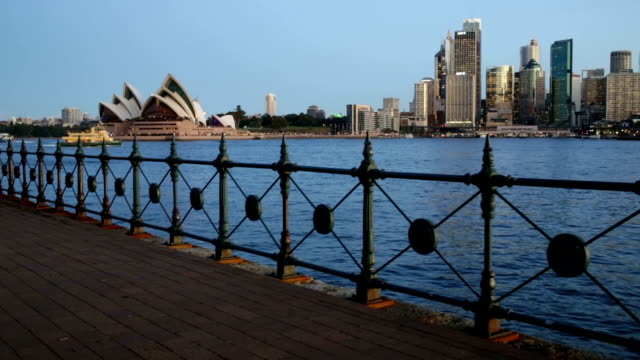 Sydney Harbour Bridge and Opera House video