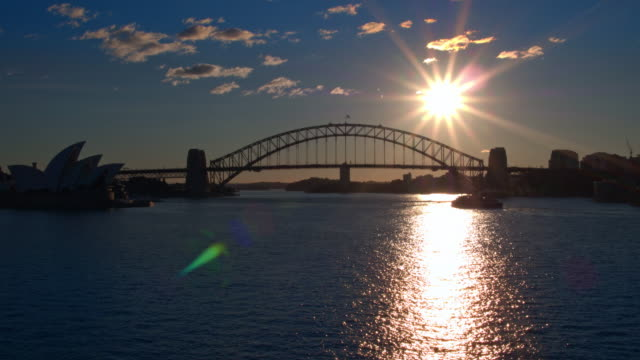 Sydney Harbour Bridge, Sydney, New South Wales, Australia video