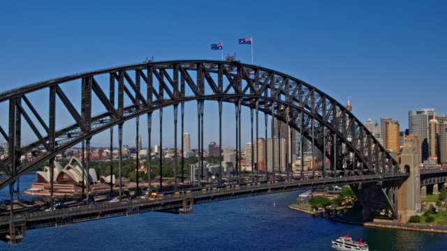 sydney harbour bridge, sydney, nya sydwales, australien - realtid bildbanksvideor och videomaterial från bakom kulisserna