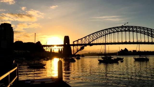 Sydney Harbour Bridge. video