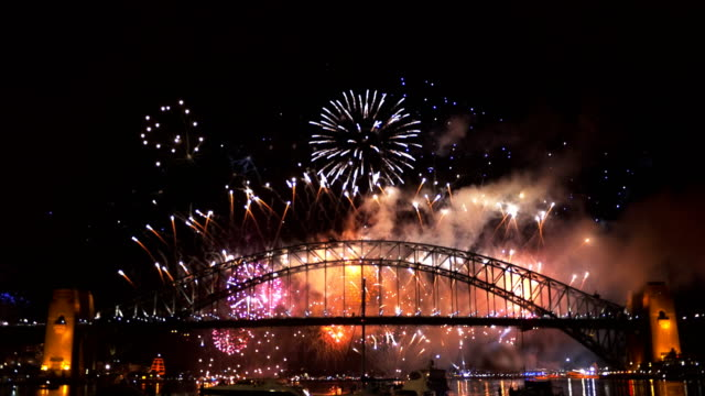 sydney nye 2014 - new years stock videos & royalty-free footage