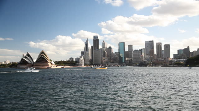 Sydney Skyline and Opera House video