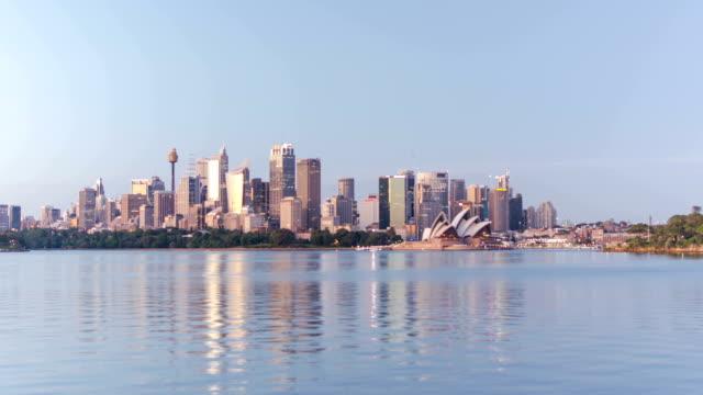 TIME LAPSE: Sydney skyline sunrise video