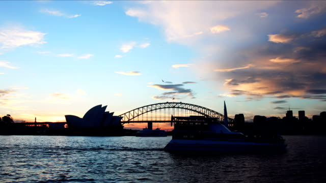 Sydney Sunset video