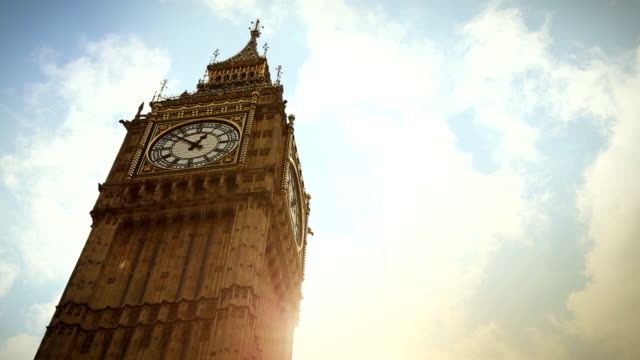 Symbol of London: the Big Ben video