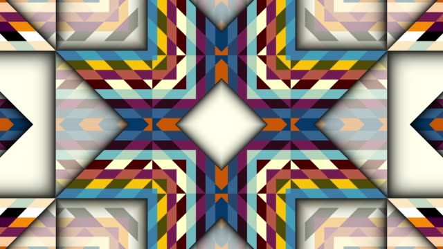 Symmetric abstract psychedelic loop background