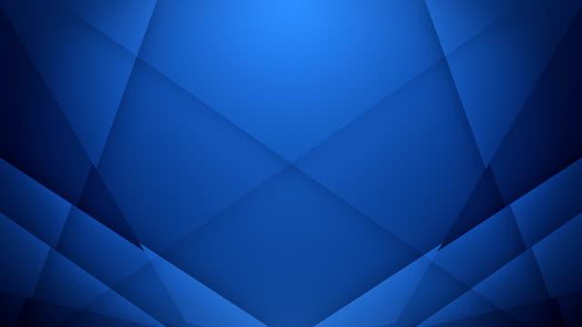 Symmetric Lines Background (Dark Blue) - Loop