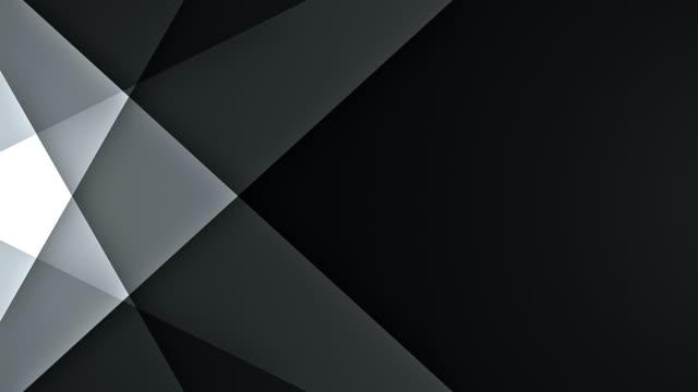 vidéos et rushes de lignes symétriques avec espace de copie (noir) - boucle - gris