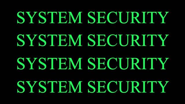 systemsäkerhet - vakta bildbanksvideor och videomaterial från bakom kulisserna