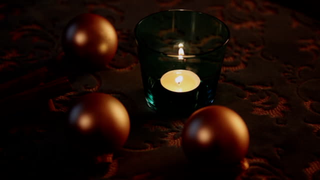 Table Christmas decoration video