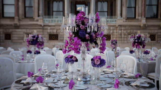 Royalty free wedding reception hd video 4k stock footage b roll table decoration video junglespirit Image collections