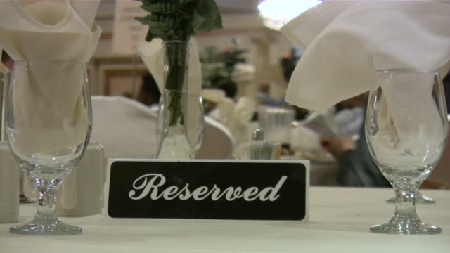 Table Reserved. Bar, pub, restaurant, nightclub scene. video