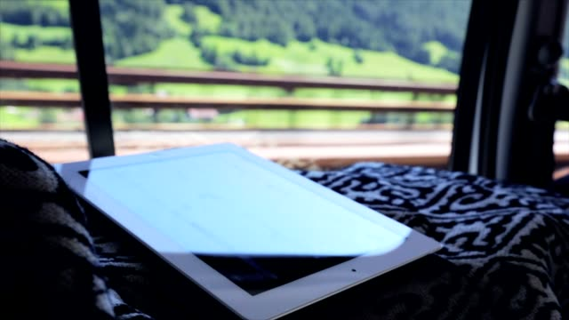 Tablet business on the road video