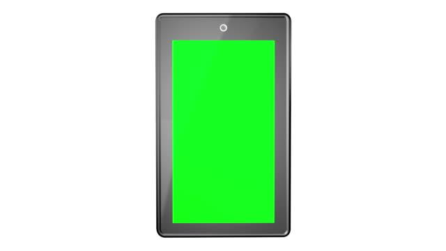 Tablet Green Screen video