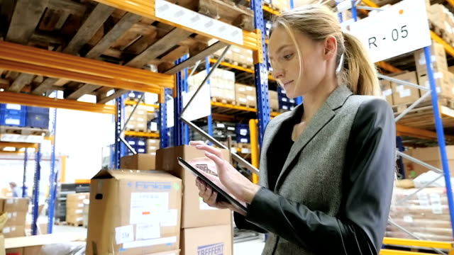 Tablet networking in modern warehouse video