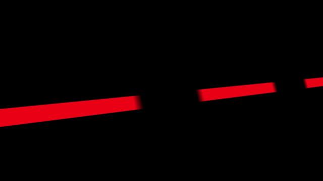 Tachometer RPM Red video