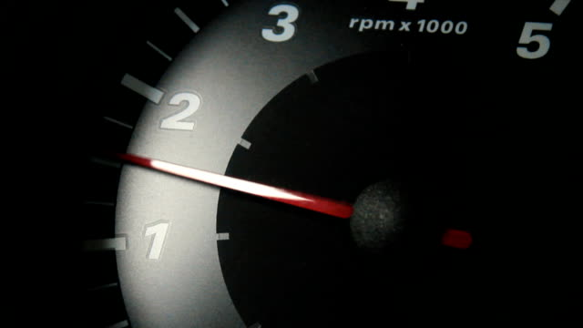 Tachometer RPM video