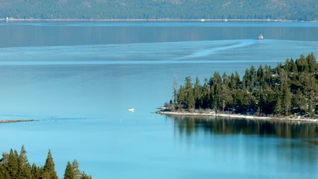 Tahoe lake video