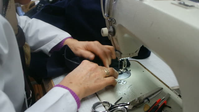 Tailor - Sewing video