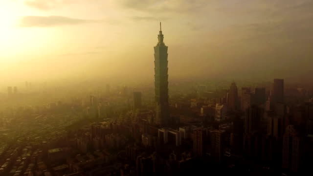 Taipei 101 by Drone video