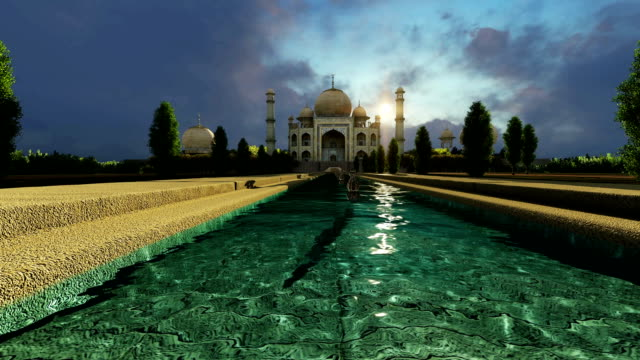 Taj Mahal A Famous Historical Monument A Monument Of Love The Greatest White Marble Tomb In India Agra Uttar Pradesh video