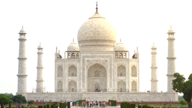 Taj Mahal monument in Agra, India