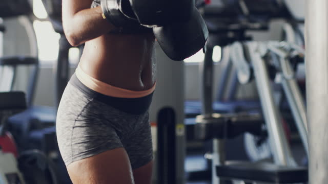 Take a few swipes at a leaner physique video