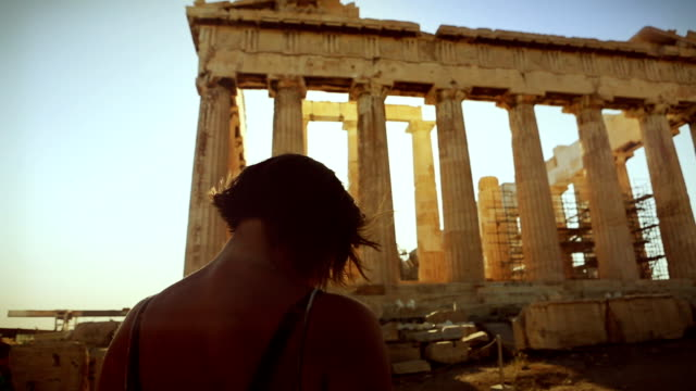 Take a shot to the Parthenon video