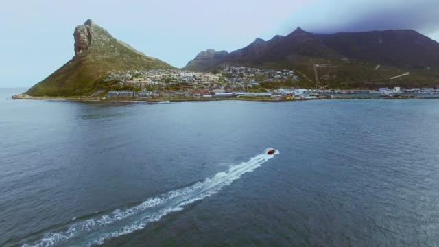 Taking a tour along the coast 4k drone footage of the ocean western cape province stock videos & royalty-free footage