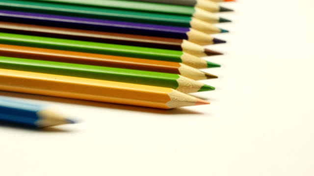 Taking colored pencil video