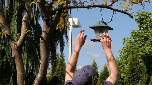 Taking Down Bird Feeder video