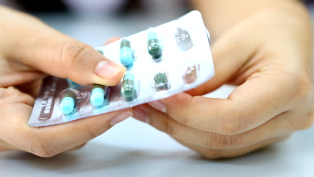 Taking pills video