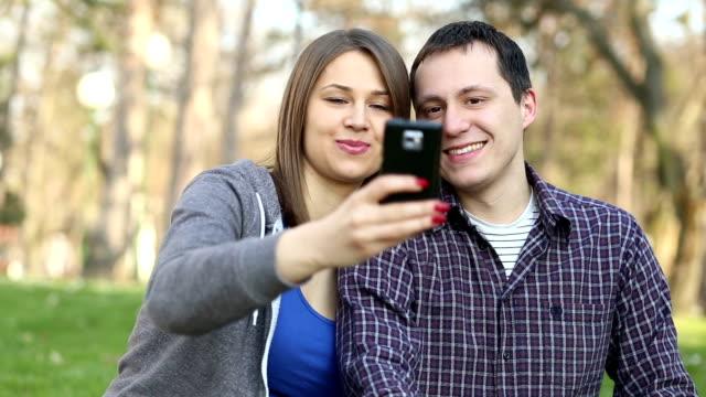 Taking Selfie video