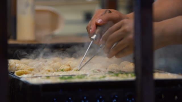 Takoyaki in Dotonbori video